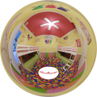 Virtual Tour of Orlando Area ballpit INSIDE of a vacation home rental: The Sweet Escape