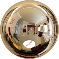 Virtual tour of The Eye Candy Bathroom