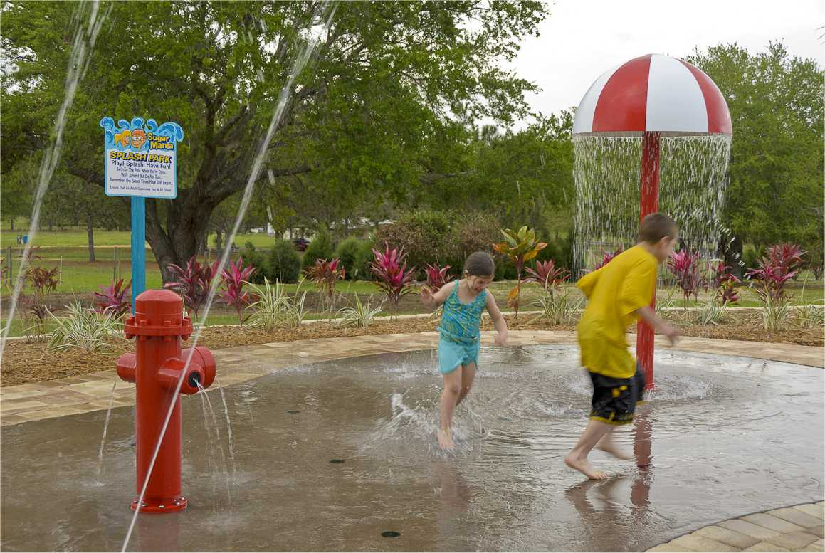 Splash Park at Home