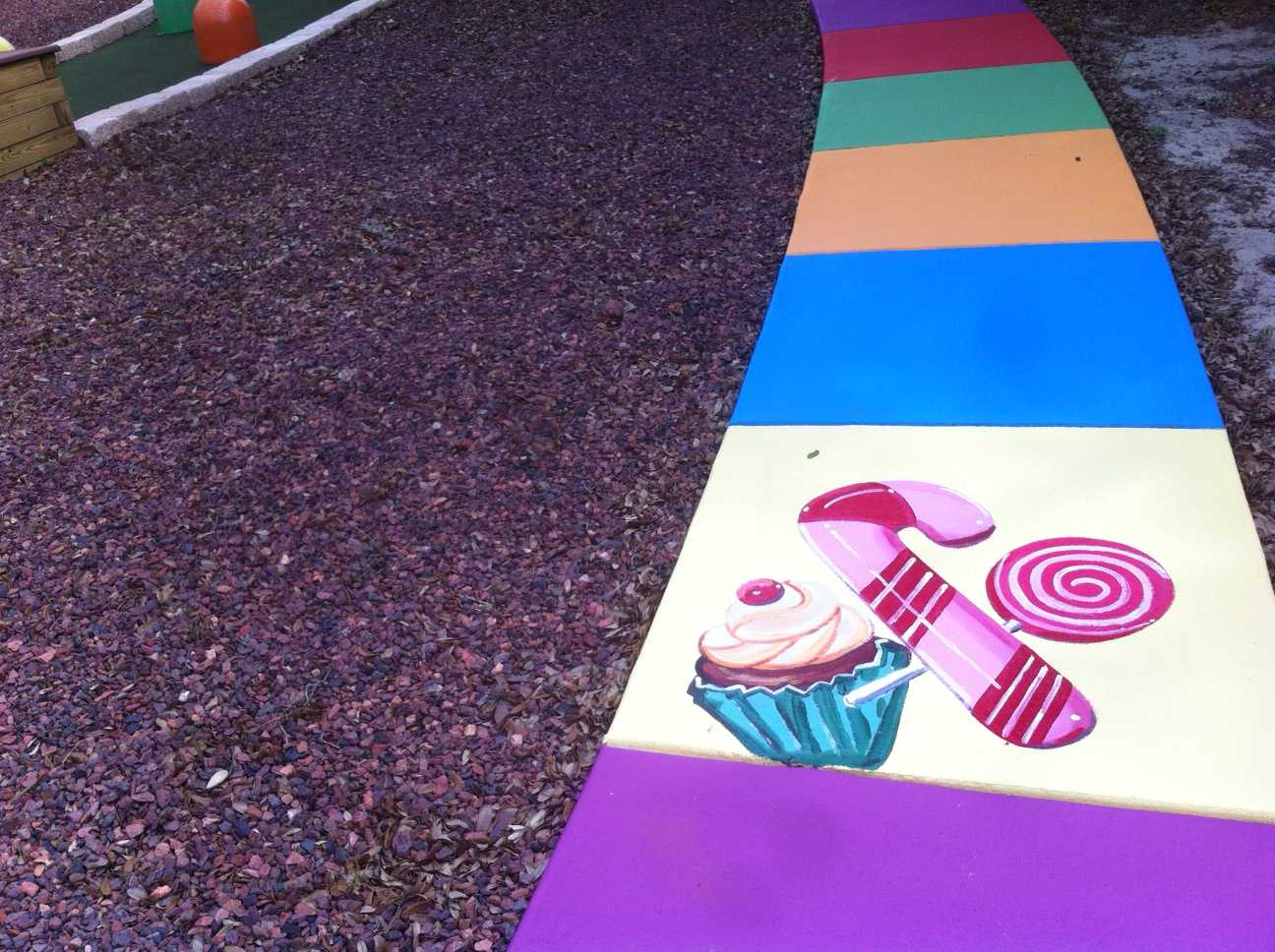 Giant Candyland Walkway Play Human Candyland At The Sweet Escape Vacation Home Rental
