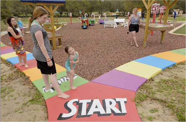 Play CandyLand outdoors at this Orlando area luxury vacation rental