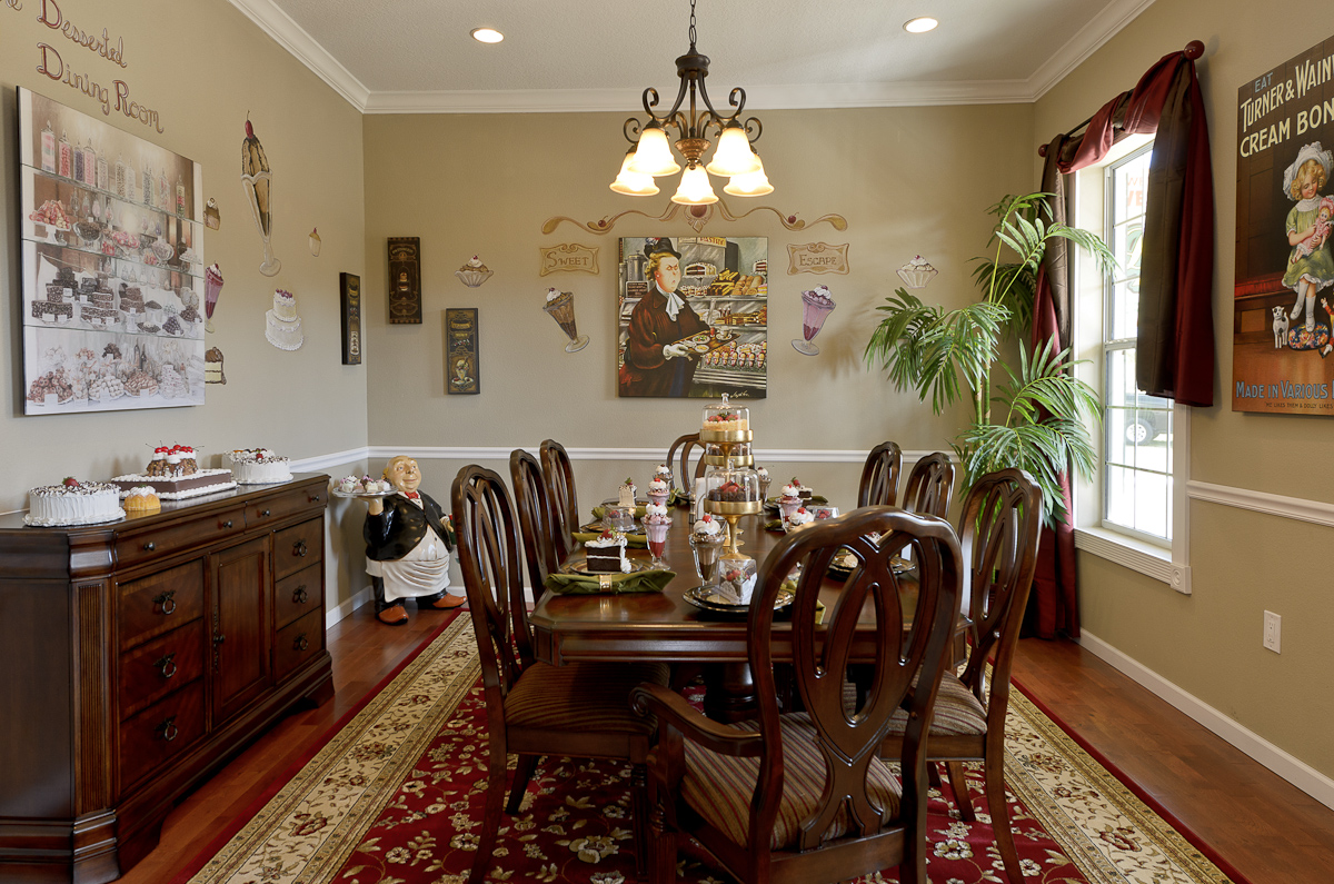 Large Dining Room Pictures Part - 37: Desserted Dining Room Photo # 2