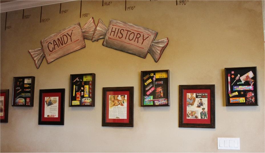 scanvenger hunt candy history
