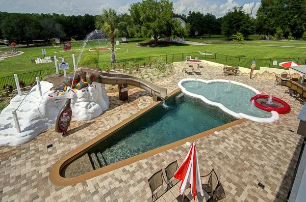 Ice Cream Cone Swimming Pool