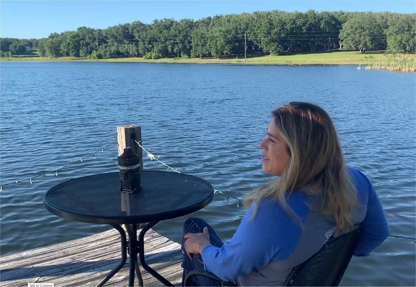 waterfront vacation rental home with access to a lake